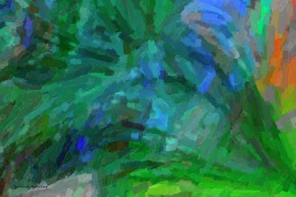 Painting - Abstract 2005 by Gerlinde Keating - Galleria GK Keating Associates Inc