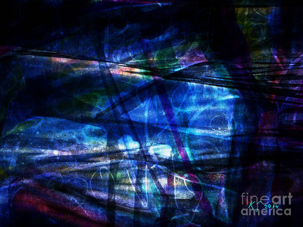 Painting - Abstract-20a by Katerina Stamatelos
