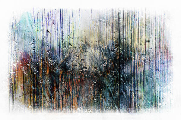 2f Abstract Expressionism Digital Painting Art Print