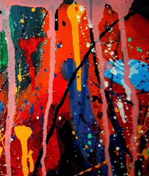Expressionism Mixed Media - Abstract 3  by John  Nolan