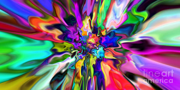 Digital Art - Abstract 367 by Rolf Bertram