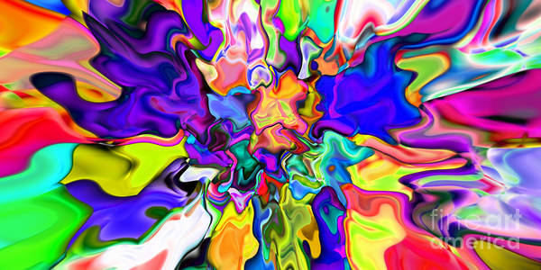Digital Art - Abstract 370 by Rolf Bertram