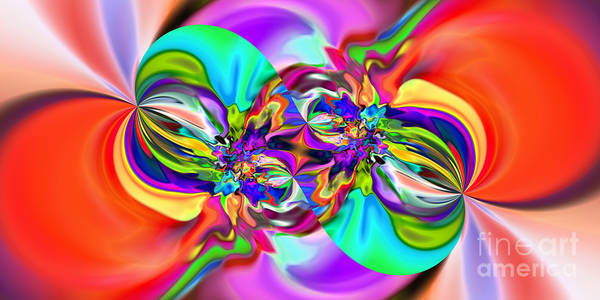 Digital Art - Abstract 374 by Rolf Bertram