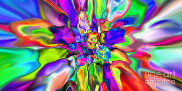 Digital Art - Abstract 376 by Rolf Bertram