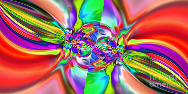 Digital Art - Abstract 377 by Rolf Bertram