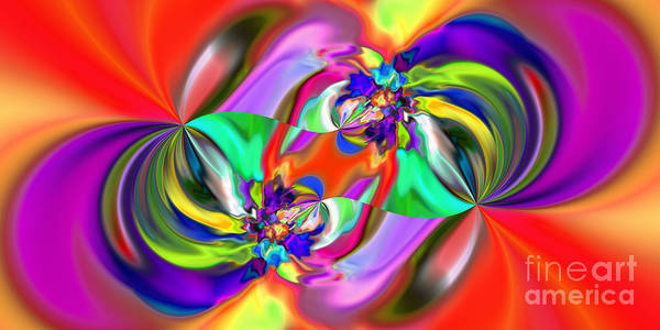 Digital Art - Abstract 380 by Rolf Bertram