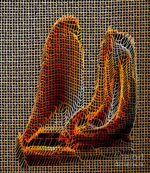 Digital Art - Abstract 3d Sculpture by Rafael Salazar