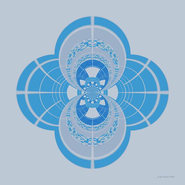Digital Art - Abstract 407 by Judi Suni Hall
