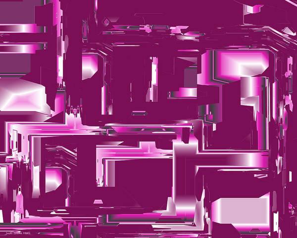 Digital Art - Abstract 408 by Judi Suni Hall