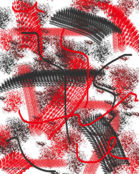 Digital Art - Abstract 422 by Judi Suni Hall