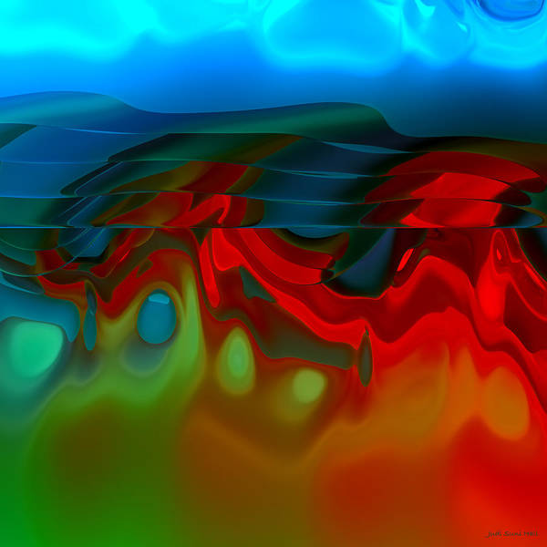 Digital Art - Abstract 430 by Judi Suni Hall