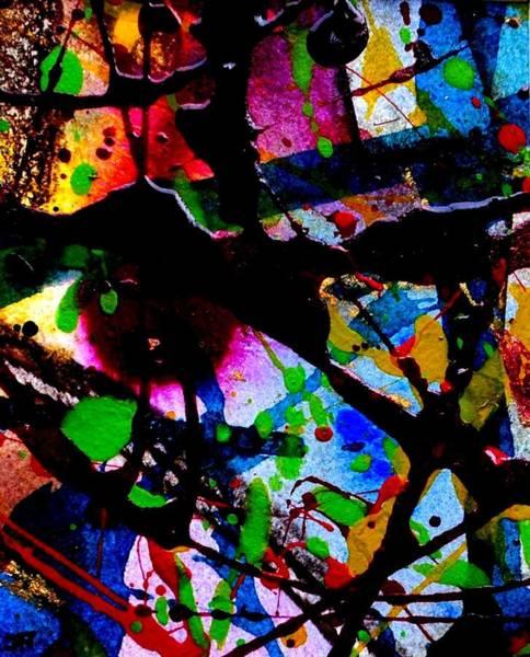 Irish Mixed Media - Abstract 47 by John  Nolan