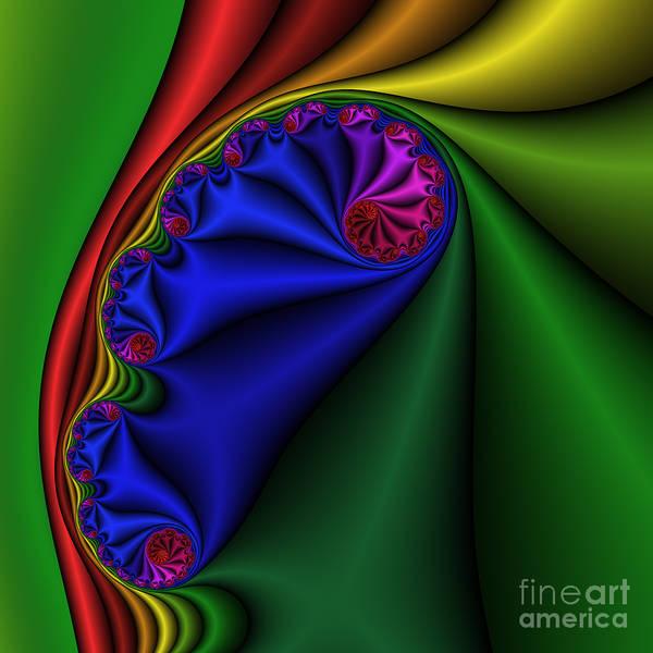 Digital Art - Abstract 513 by Rolf Bertram
