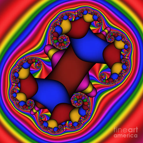 Digital Art - Abstract 514 by Rolf Bertram