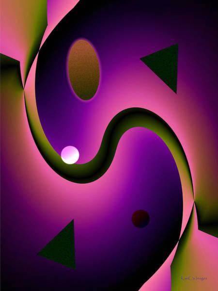 Digital Art - Abstract 515 6 by Kae Cheatham