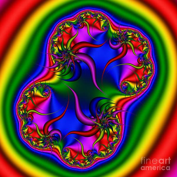 Digital Art - Abstract 516 by Rolf Bertram