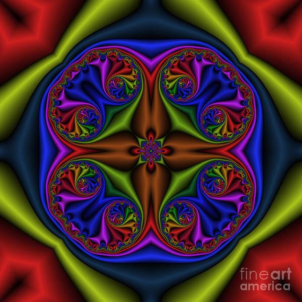 Digital Art - Abstract 601 by Rolf Bertram