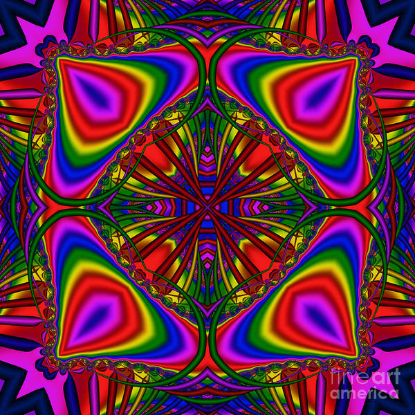 Digital Art - Abstract 605 by Rolf Bertram