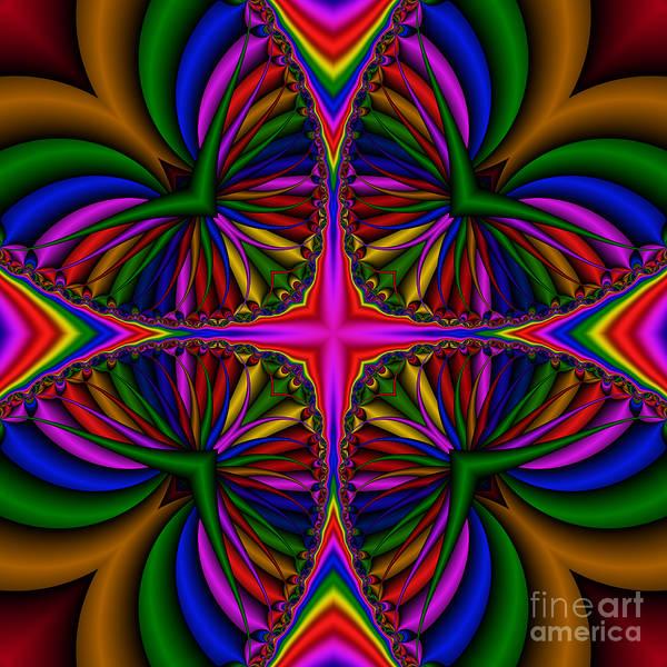 Digital Art - Abstract 610 by Rolf Bertram