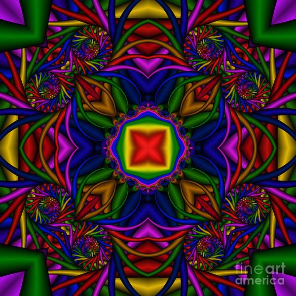 Digital Art - Abstract 611 by Rolf Bertram