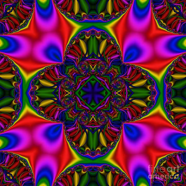 Digital Art - Abstract 612 by Rolf Bertram