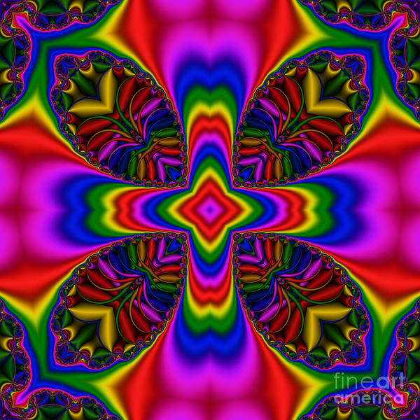 Digital Art - Abstract 613 by Rolf Bertram