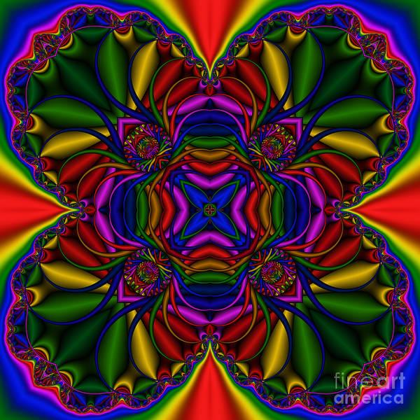 Digital Art - Abstract 614 by Rolf Bertram