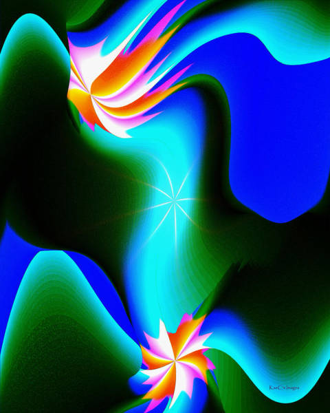 Digital Art - Abstract 615 1 by Kae Cheatham