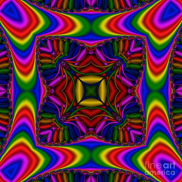 Digital Art - Abstract 615 by Rolf Bertram