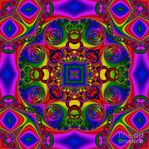 Digital Art - Abstract 619 by Rolf Bertram