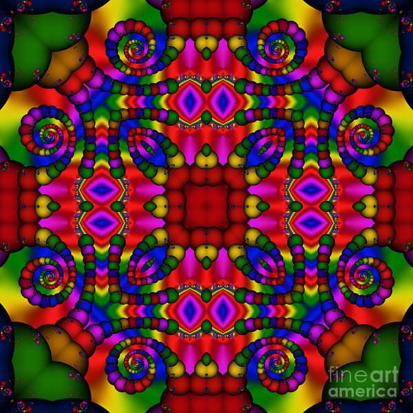 Digital Art - Abstract 652 by Rolf Bertram
