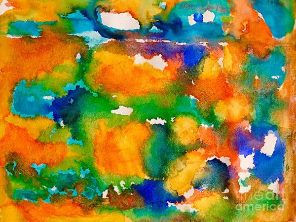 Wall Art - Painting - Abstract 7 by Cristina Stefan