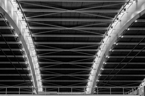 Photograph - Abstract Architecture Heathrow T5 by Clare Bambers