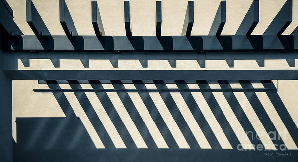 Photograph - Abstract Architecture by Todd Blanchard