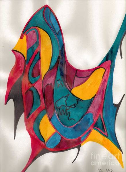Mixed Media - Abstract Art 101 by Mary Mikawoz