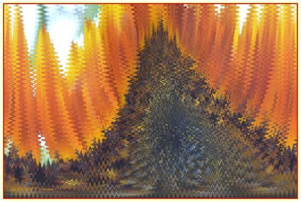 Amarillo Digital Art - Abstract Art 5 by Sonali Gangane