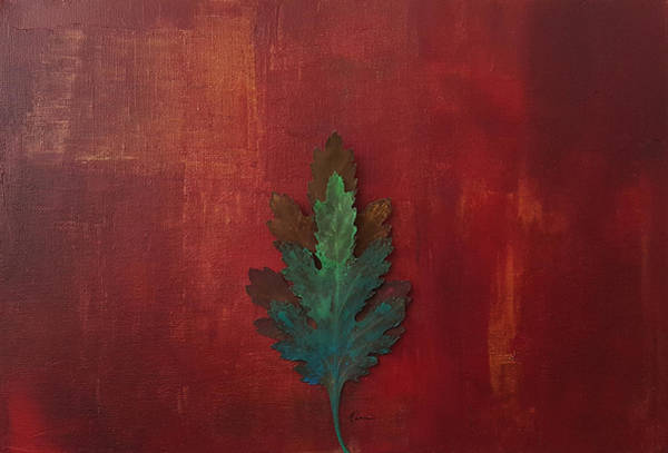 New Leaf Mixed Media - New Life Abstract Art by Kathleen Wong