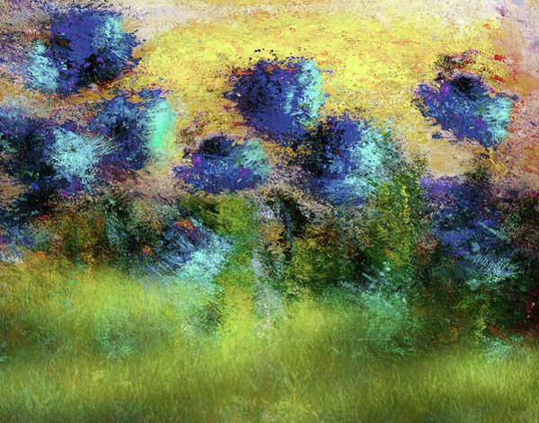 Painting - Abstract Art Summer Fields Of Sunlight by Isabella Howard