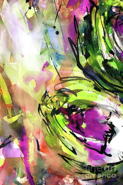 Painting - Abstract Arti 3 By Ginette by Ginette Callaway