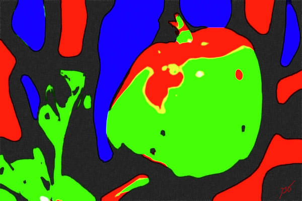 Photograph - Abstract Baby Apple by Gina O'Brien