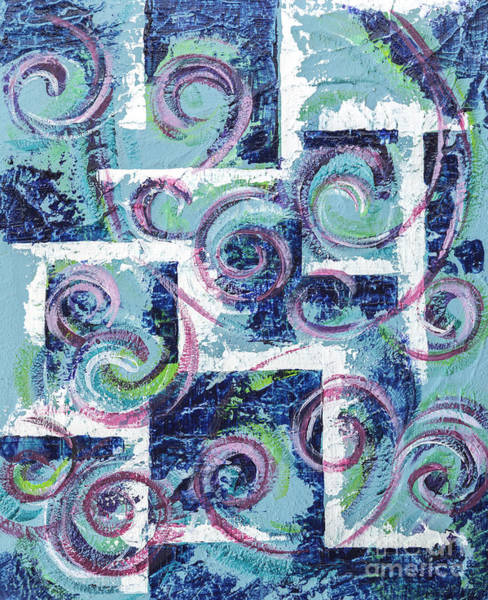 Painting - Abstract Background by Ariadna De Raadt