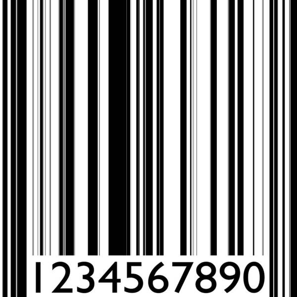 Barcode Digital Art - Abstract Barcode Strip by Miroslav Nemecek