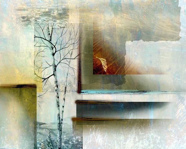 Shotwell Digital Art - Abstract Birch by Ken Shotwell
