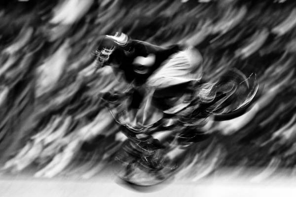 Freestyle Photograph - Abstract Black And White  by Mark Courage