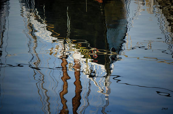 Photograph - Abstract Boat Reflection IIi by Dave Gordon