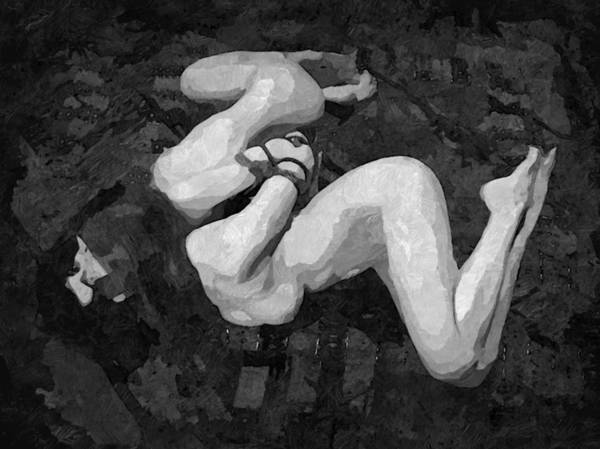 Xxx Painting - Abstract Bondage by BDSM love