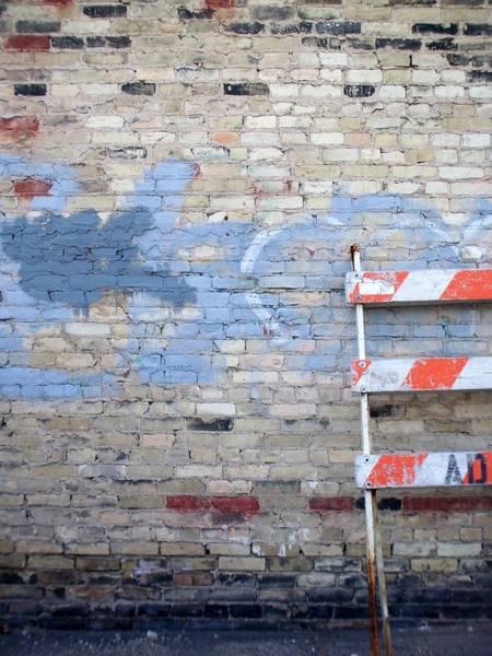 Photograph - Abstract Brick 2 by Anita Burgermeister