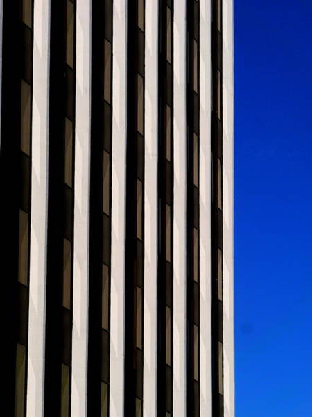 Photograph - Abstract Building 2011 by Guntis Lauzums
