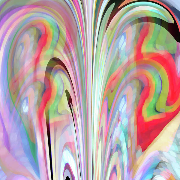 Digital Art - Abstract Butterfly by Mihaela Stancu