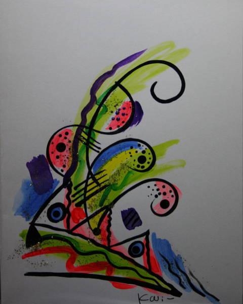 Abstract Card 1 Art Print